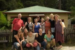 tarkine group at olde pub corinna 2016 tarkine retreat