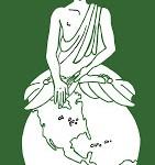 buddha touching earth green