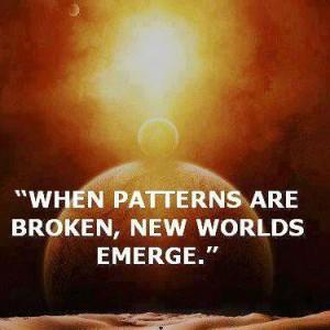 when patterns break