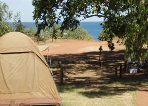 kooljaman dome-tent-view