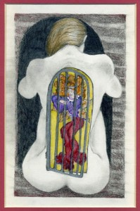 caged Wild Woman L
