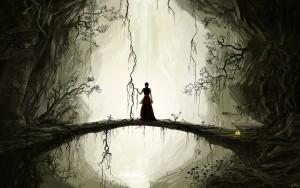 women fantasy dark forest 1680x1050 wallpaper_www.wallfox_net_11