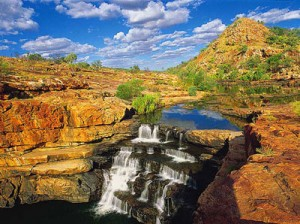 bell-falls on gibb river road